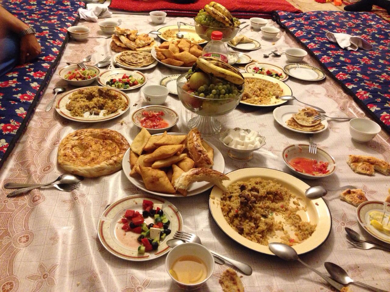 写真4(カザフスタンの郷土料理)