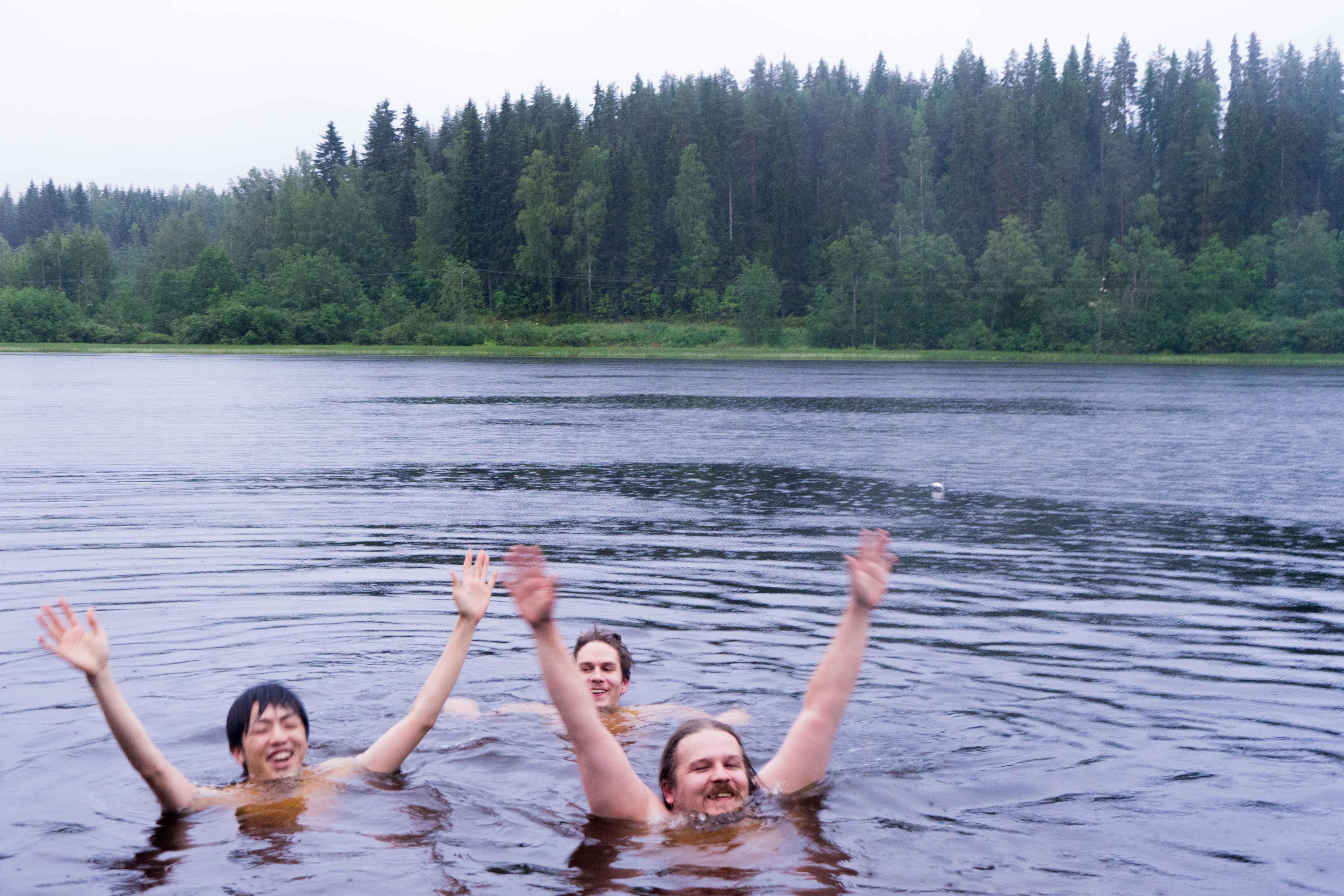 フィンランドの湖1