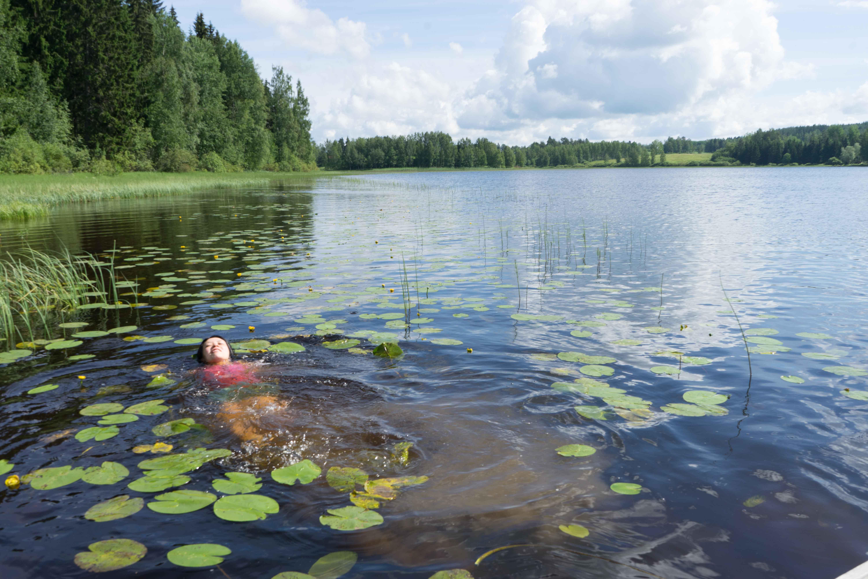 フィンランドの湖3