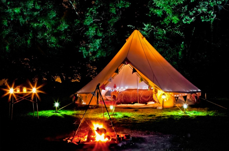 ないとキャンプ:グランピングサイト (1)