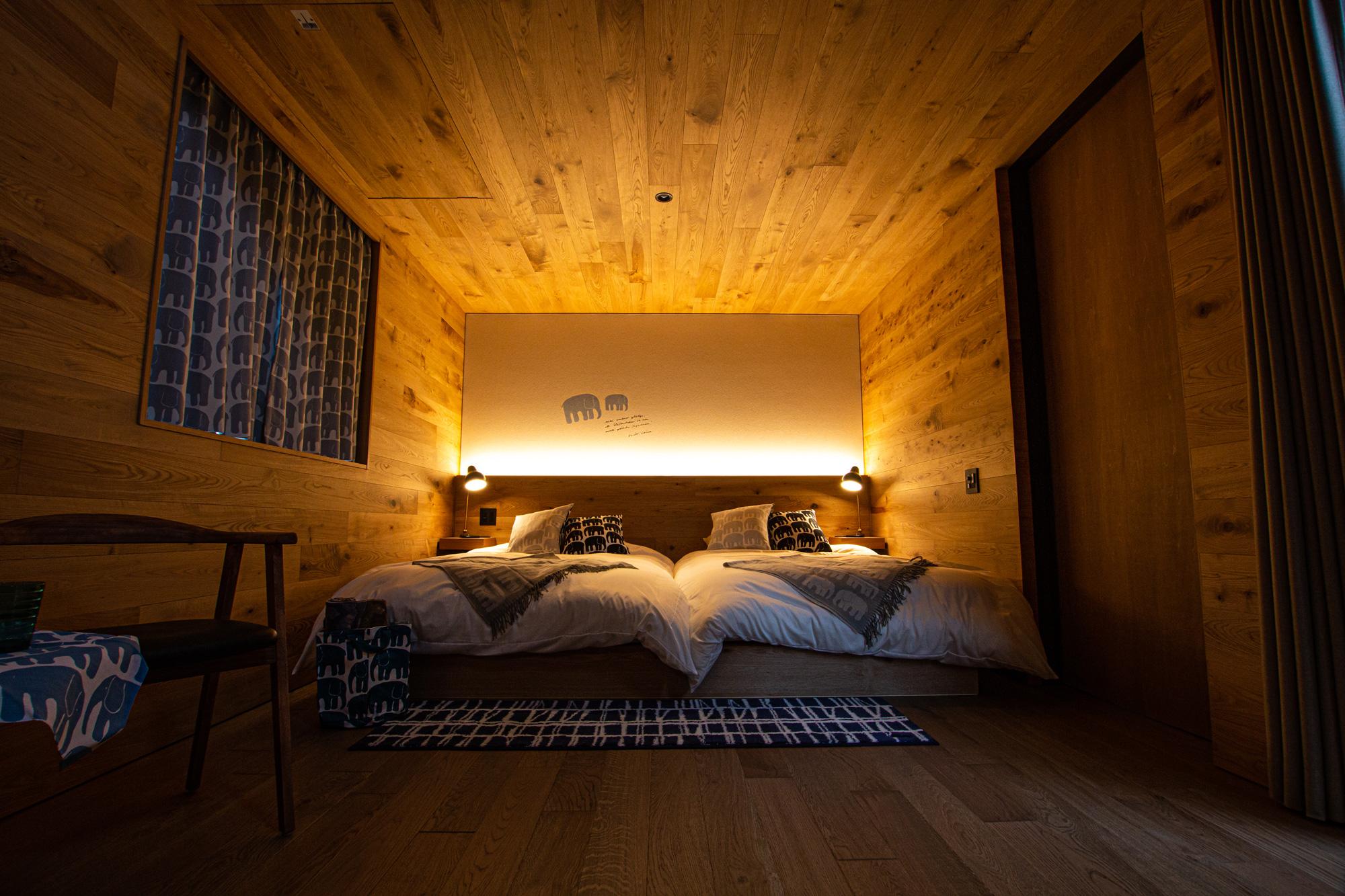 サウナスイート寝室